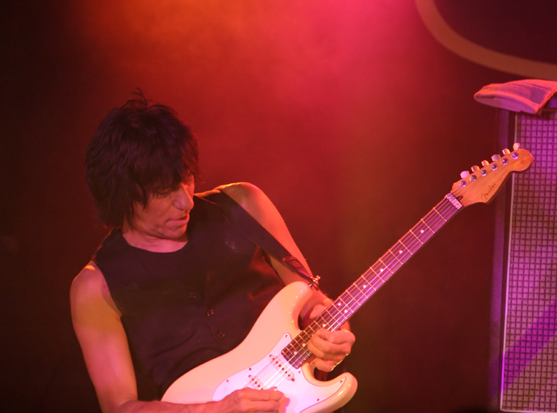 Jeff Beck at BB King's